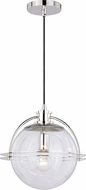 Vaxcel P0290 630 Series Modern Satin Nickel Hanging Lamp