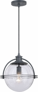 Vaxcel P0291 630 Series Contemporary Black Iron Hanging Light