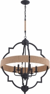 Vaxcel P0309 Beaumont Textured Gray Foyer Lighting