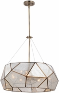 Vaxcel P0318 Euclid Contemporary Aged Brass 24  Pendant Lighting Fixture