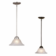 Vaxcel PD5024 Da Vinci 9.63  Wide Mini Hanging Lamp
