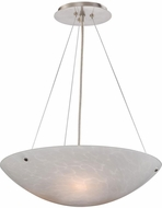 Vaxcel PD53211SN Milano Contemporary Satin Nickel Pendant Lamp