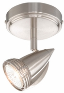 Vaxcel SP34112SN Spotlight Modern Satin Nickel Finish 5.5  Tall Halogen Home Ceiling Lighting