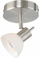 Vaxcel SP53512SN Spotlight Modern Satin Nickel Finish 5.75  Tall Halogen Ceiling Lighting