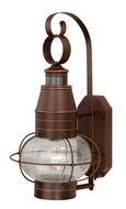 Vaxcel T0054 Chatham Nautical Burnished Bronze Finish 19.375  Tall Exterior Smart Lighting Wall Light Fixture