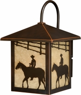 Vaxcel T0105 Trail Burnished Bronze Outdoor Wall Sconce
