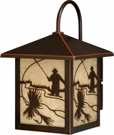 Vaxcel T0111 Mayfly Burnished Bronze Outdoor Sconce Lighting