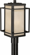 Vaxcel T0140 Hyde Park  Mission Espresso Bronze Exterior Lamp Post Light Fixture