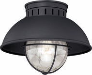 Vaxcel T0142 Harwich Retro Textured Black Exterior Home Ceiling Lighting
