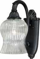 Vaxcel T0153 York Traditional Gold Stone Outdoor Sconce Lighting