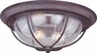 Vaxcel T0220 Dockside Weathered Patina Exterior Flush Mount Lighting