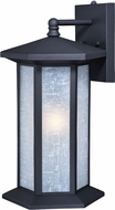Vaxcel T0222 Halsted Textured Black Outdoor Lamp Sconce