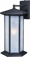 Vaxcel T0225 Halsted Textured Black Exterior Wall Sconce Lighting