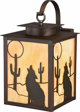 Vaxcel T0226 Calexico Burnished Bronze Outdoor Wall Light Fixture