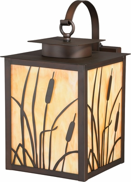 Vaxcel T0227 Bulrush Burnished Bronze Exterior Lighting Wall Sconce