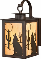 Vaxcel T0232 Calexico Burnished Bronze Outdoor Wall Lighting Sconce