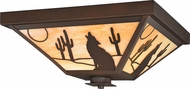 Vaxcel T0234 Calexico Burnished Bronze Outdoor Ceiling Lighting