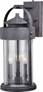 Vaxcel T0287 Cumberland Rust Iron Outdoor Lamp Sconce