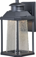 Vaxcel T0309 Freeport Contemporary Textured Black LED Outdoor Wall Sconce Light