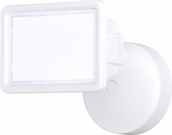 Vaxcel T0330 Sigma Modern White LED Exterior Home Security Light