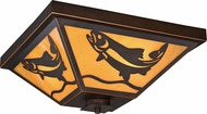 Vaxcel T0335 Missoula Burnished Bronze Outdoor Overhead Lighting Fixture