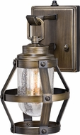 Vaxcel T0337 Bruges Contemporary Parisian Bronze Outdoor 6  Wall Lighting