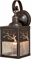 Vaxcel T0355 Alberta Mission Burnished Bronze Outdoor Wall Sconce Lighting