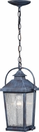 Vaxcel T0380 Lexington Traditional Colonial Gray Outdoor Hanging Light
