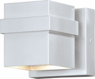 Vaxcel T0399 Lavage Contemporary Painted Satin Nickel LED Exterior 5 Lighting Sconce