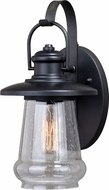 Vaxcel T0417 Bridgeport Contemporary Oil Rubbed Bronze Outdoor 8 Wall Sconce Lighting