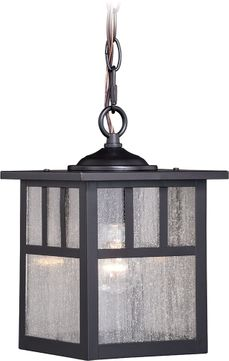 Vaxcel T0439 Mission Oil Burnished Bronze Outdoor Hanging Light Fixture