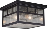 Vaxcel T0440 Mission Oil Burnished Bronze Exterior Overhead Lighting