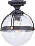 Vaxcel T0453 Lorient Modern New Bronze Outdoor Flush Mount Lighting Fixture