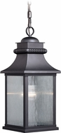 Vaxcel T0471 Cambridge Traditional Oil Rubbed Bronze Exterior Ceiling Pendant Light