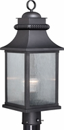 Vaxcel T0476 Cambridge Traditional Oil Rubbed Bronze Outdoor Lighting Post Light