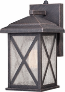 Vaxcel T0478 Maxwell Traditional Rust Iron Outdoor 6 Light Sconce