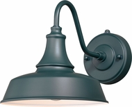 Vaxcel T0482 Dorado Contemporary Hunter Green with Inner White Outdoor 9 Lamp Sconce
