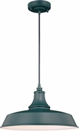 Vaxcel T0485 Dorado Modern Hunter Green with Inner White Exterior Drop Lighting Fixture