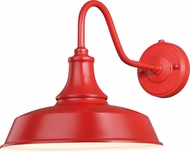 Vaxcel T0487 Dorado Modern Red with Inner White Exterior 12 Wall Lighting Sconce