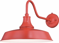 Vaxcel T0488 Dorado Contemporary Red with Inner White Outdoor 15 Wall Sconce Lighting