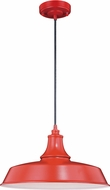 Vaxcel T0489 Dorado Modern Red with Inner White Exterior Pendant Lighting