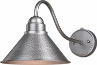 Vaxcel T0491 Outland Modern Brushed Pewter Exterior Wall Light Sconce