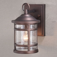 Vaxcel T0517 Southport Sienna Bronze Outdoor Wall Sconce