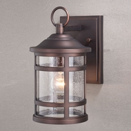 Vaxcel T0518 Southport Sienna Bronze Outdoor Wall Lamp