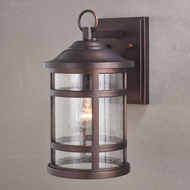 Vaxcel T0519 Southport Sienna Bronze Outdoor Wall Lighting