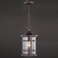 Vaxcel T0520 Southport Sienna Bronze Mini Lighting Pendant