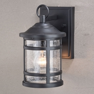 Vaxcel T0522 Southport Matte Black Outdoor Sconce Lighting