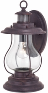 Vaxcel T0527 Dockside Colonial Weathered Patina Motion Sensor Outdoor Wall Lighting
