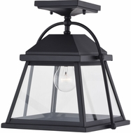 Vaxcel T0537 Lexington Textured Black Exterior Flush Mount Lighting