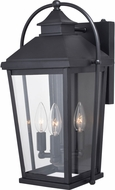 Vaxcel T0539 Lexington Textured Black Outdoor Sconce Lighting
